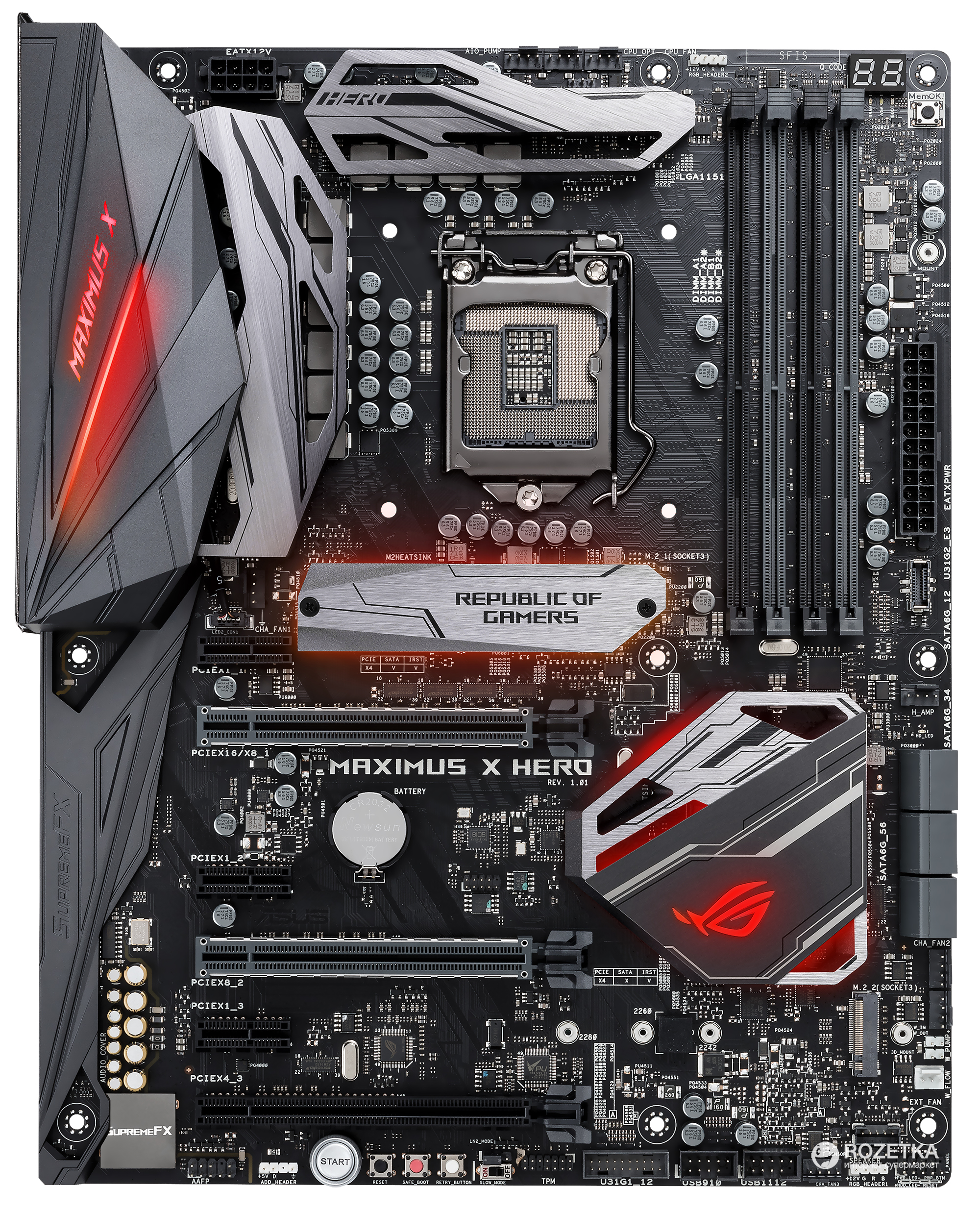 Asus ROG Maximus X Hero Review | bit-tech net