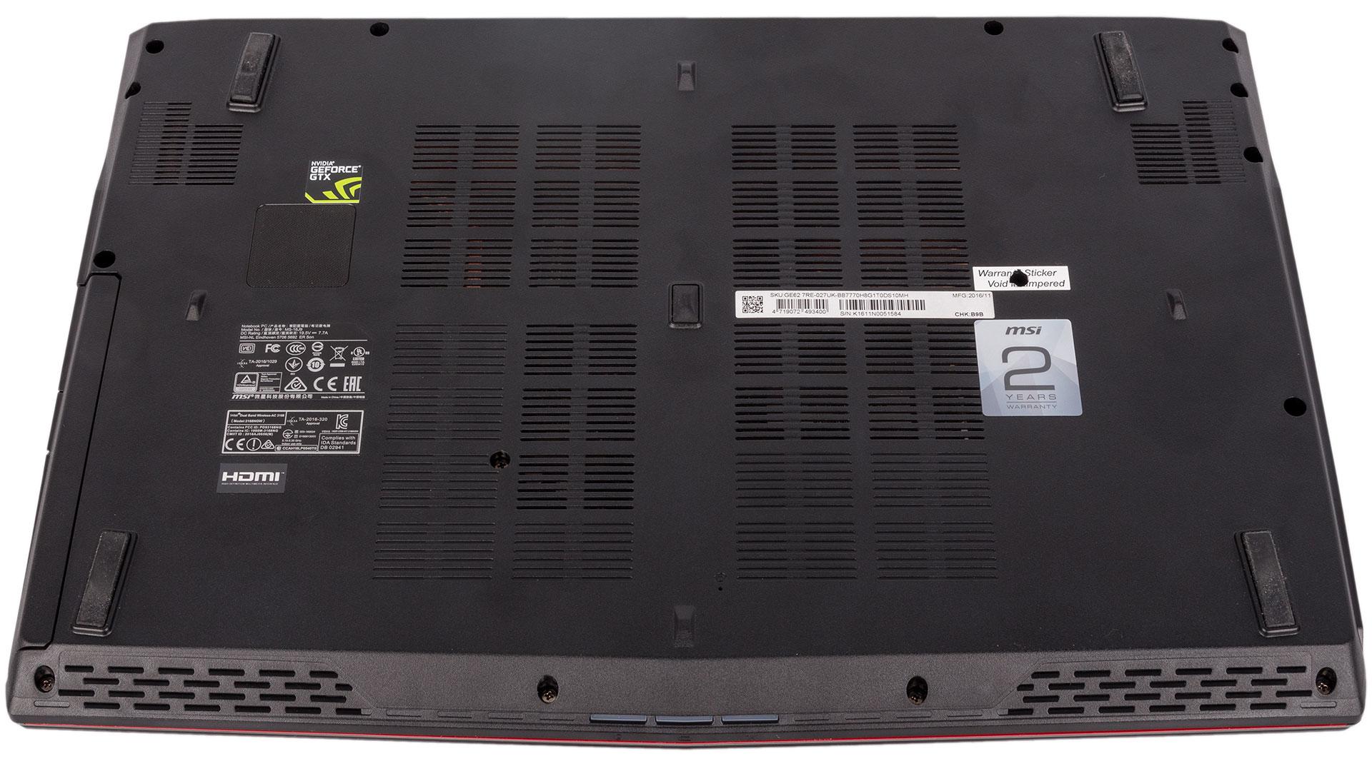 MSI GE62 7RE Apache Pro Review   bit-tech net
