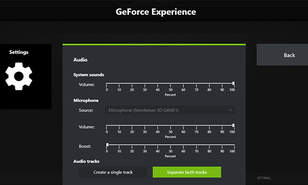 Nvidia adds multi-track audio to GeForce Experience recordings