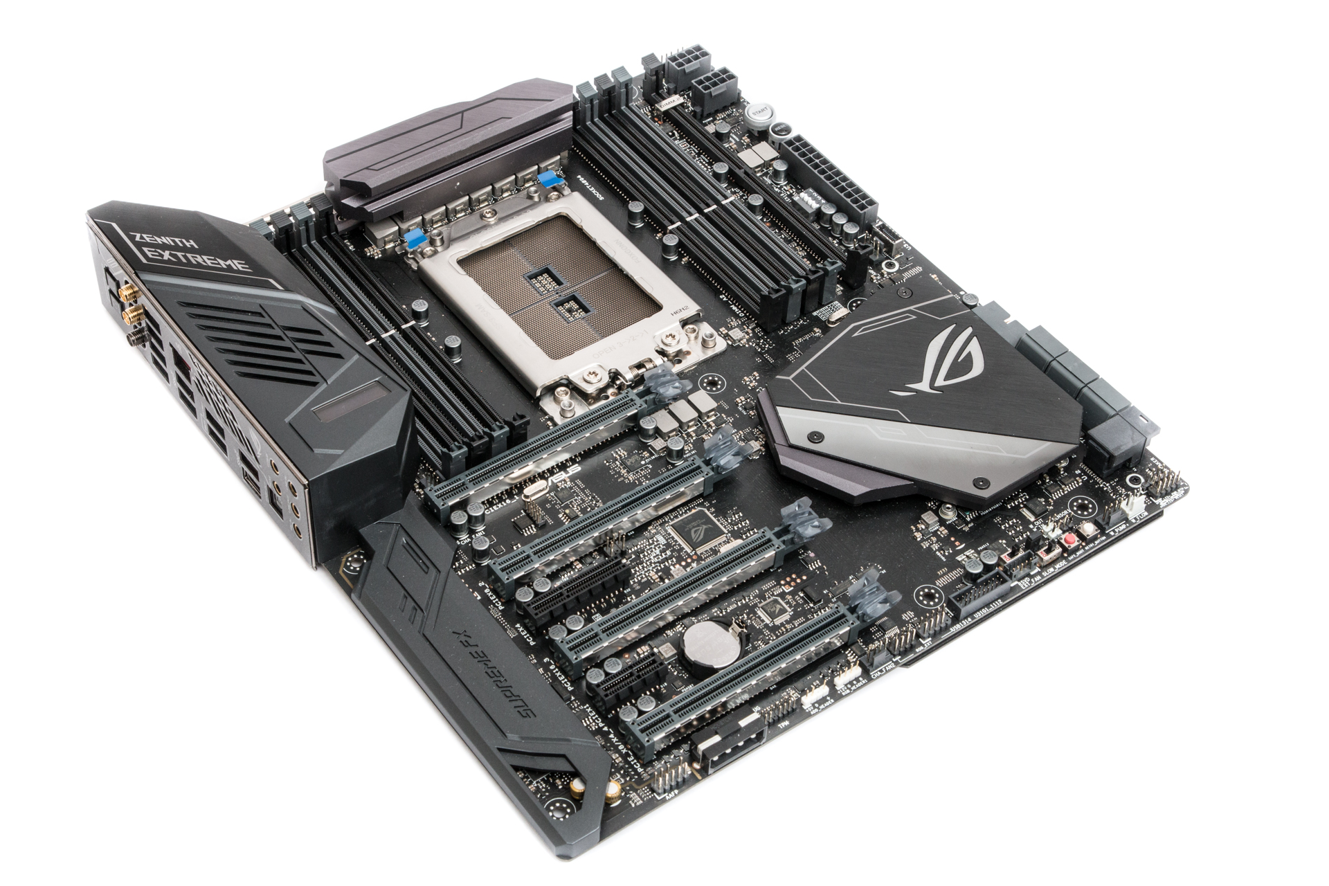 Asus Rog Zenith Extreme Review Accessories Others Repair Parts X3 Motherboard Circuit Board Click To Enlarge