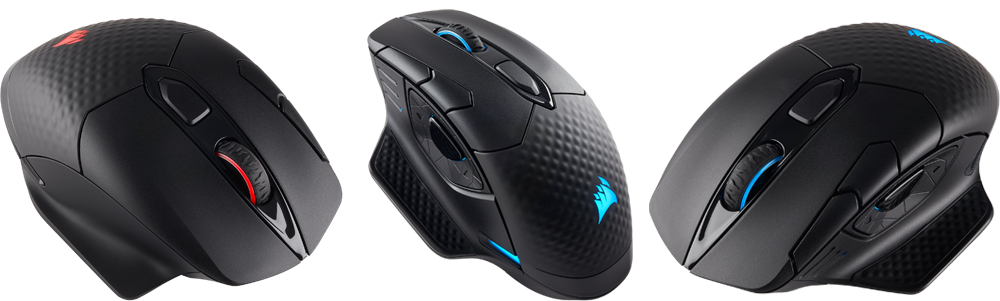 5fb1c28eed2 For those who want to go wireless forever, DARK CORE RGB SE adds Qi wireless  charging support, pairing perfectly with the all-new CORSAIR MM1000 Qi  wireless ...