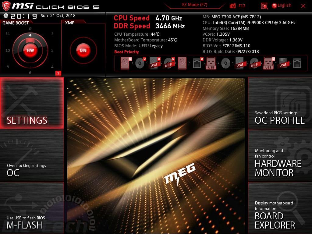 MSI MEG Z390 Ace Review   bit-tech net