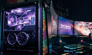 MSI Showcases New 8th Gen Desktops and Monitors