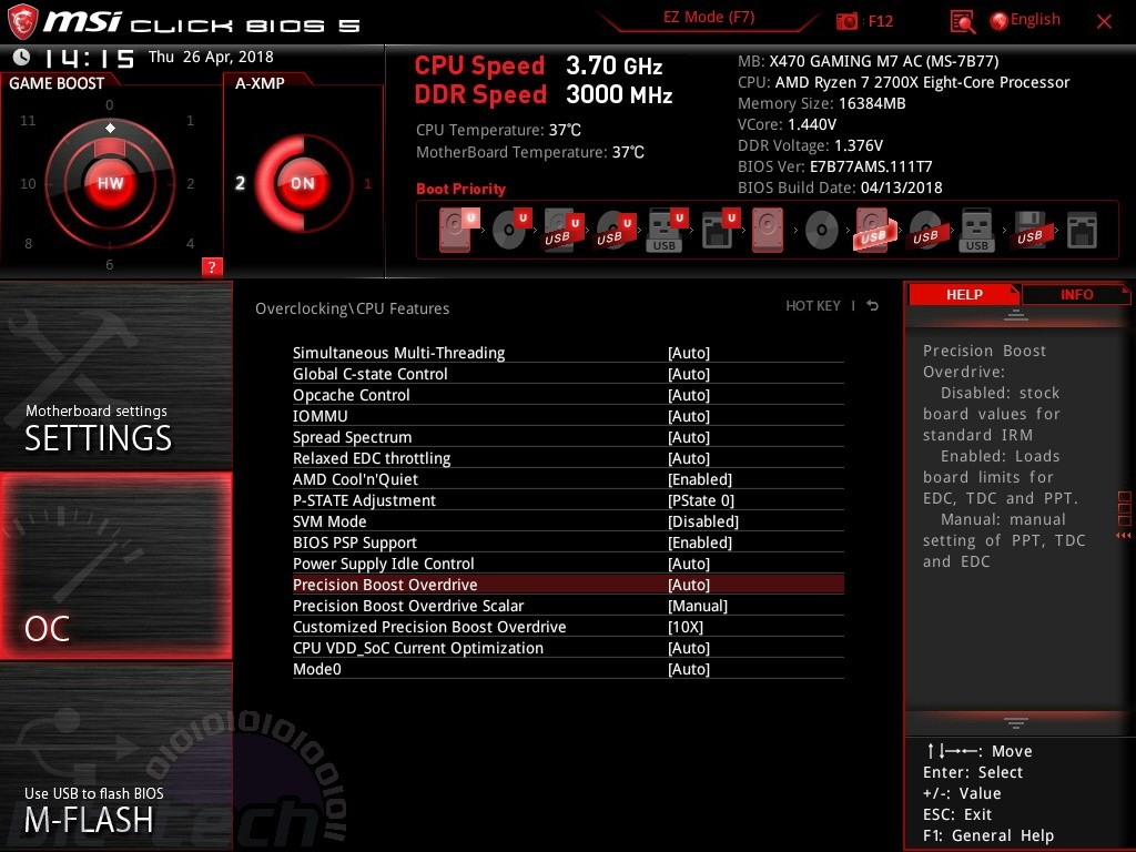 MSI X470 Gaming M7 AC Review | bit-tech net
