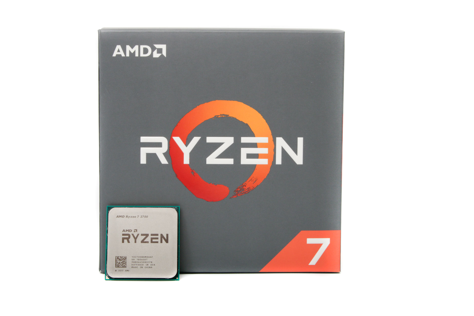 Enter the Ryzen 7 2700 and Ryzen 5 2600 - the former we're looking at today  and the latter we'll be putting through its paces very soon.