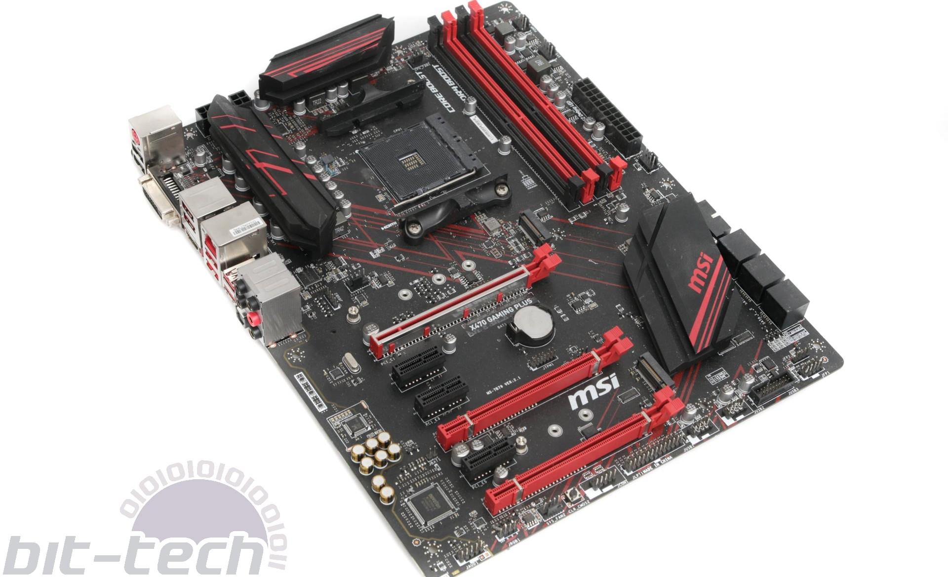 MSI X470 Gaming Plus Review   bit-tech net