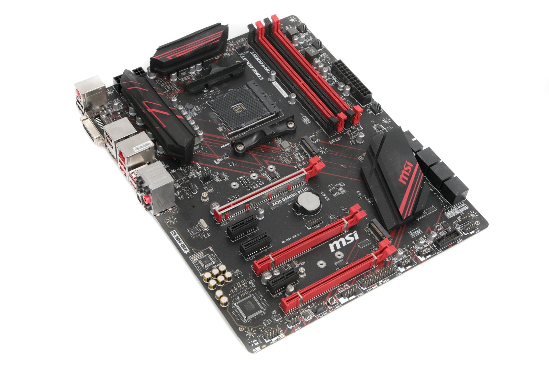 MSI X470 Gaming Plus Review | bit-tech net
