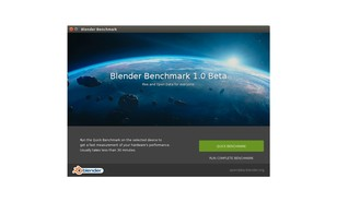 Blender launches open benchmark client