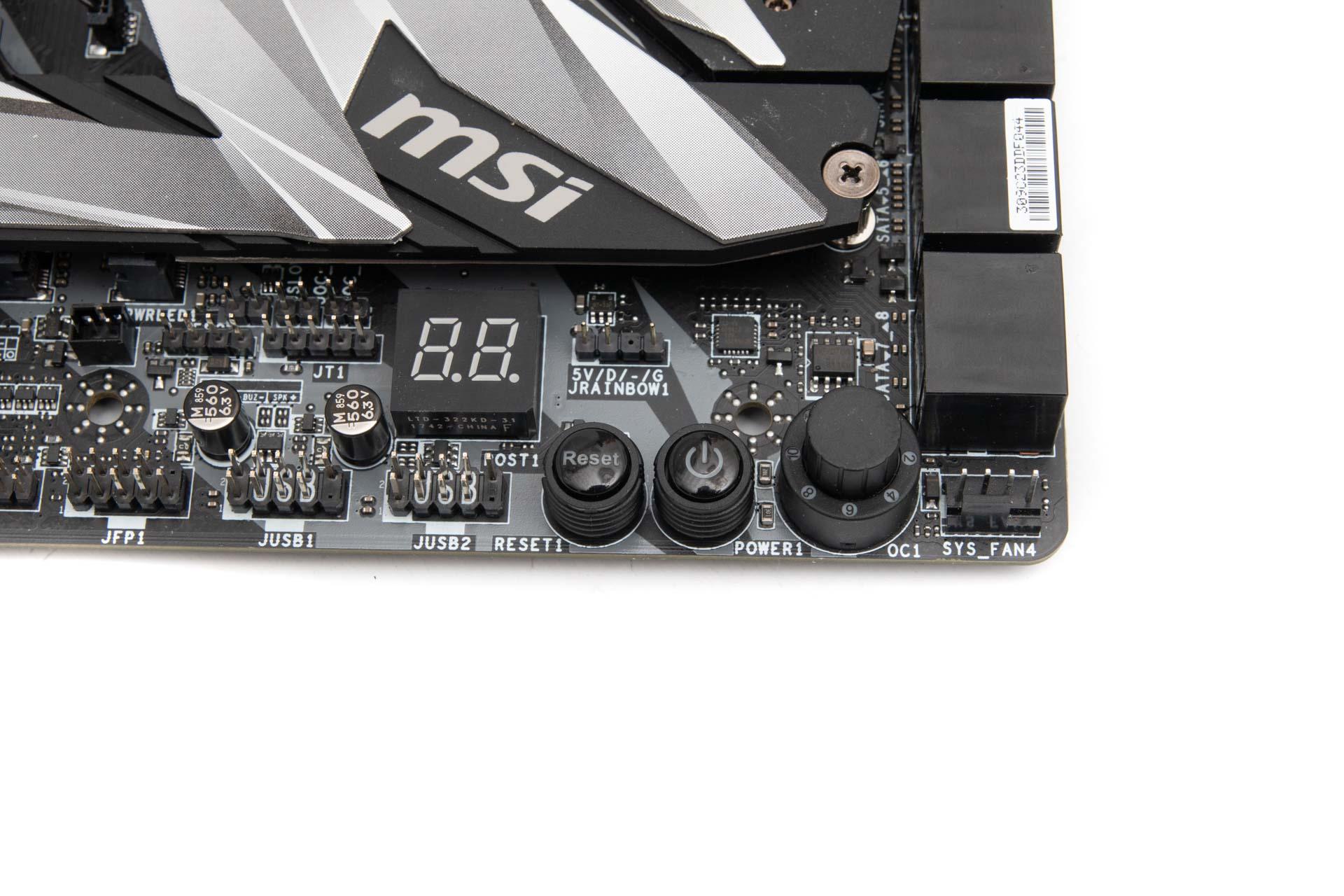 MSI MEG X399 Creation Review   bit-tech net