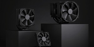 Noctua launches all-black HSF models