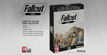 Fallout Legacy collection confirmed to launch this month