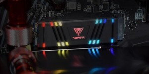 Patriot announces VPR100 SSD and it's bright
