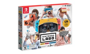 Nintendo finally brings VR to the Switch