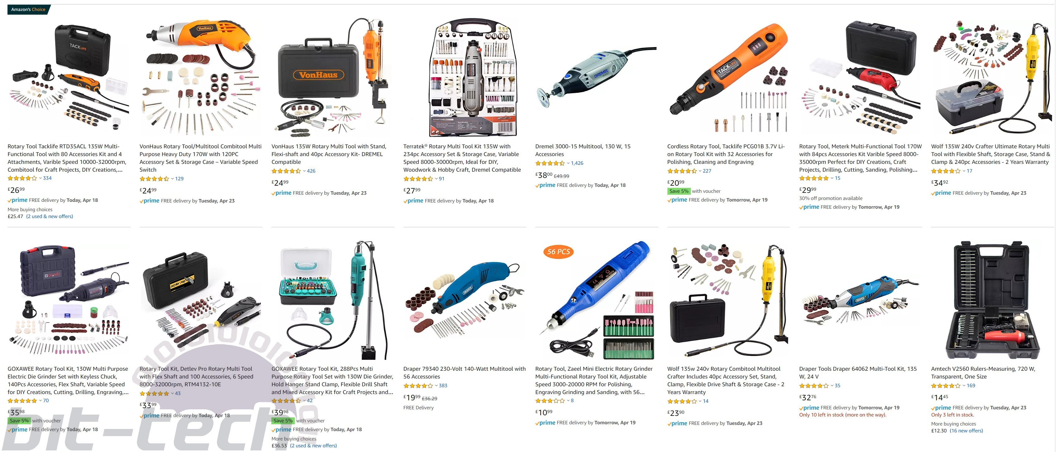 The Modding Toolbox: A Guide to Rotary Tools   bit-tech net