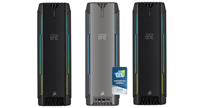 Corsair One upgraded with Core i9, RTX hardware