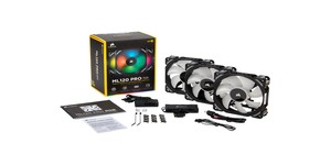 Corsair launches ML120, ML140 RGB Pro fan kits