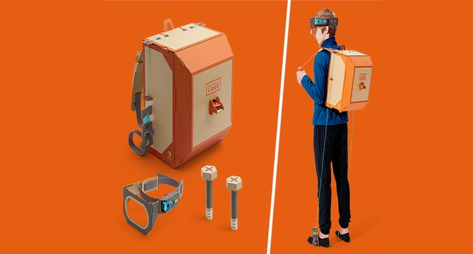 Nintendo unveils cardboard Labo 'Toy-Con' Switch kits