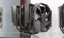 Noctua shows off black heatsinks, next-gen flagship, and passive cooler