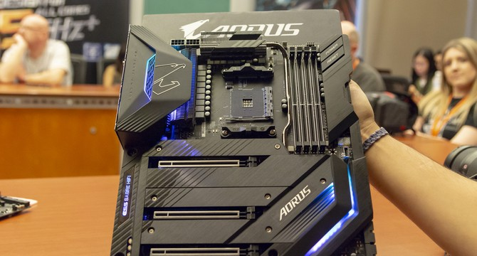 Gigabyte readies X570 motherboards and PCIe 4.0 SSDs