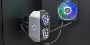 Cooler Master demos dual-pump AIO, sub-55g mouse, fanless PSU, and more