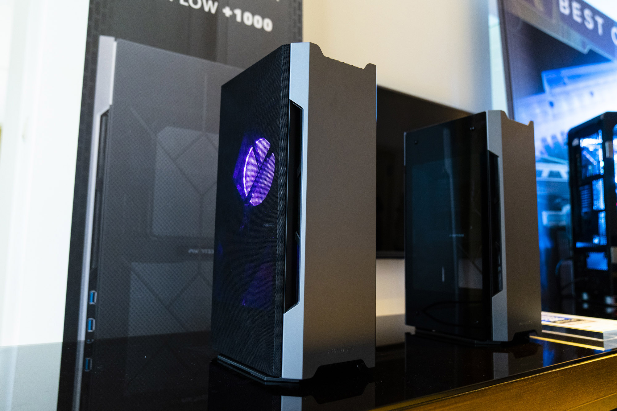 Phanteks shows off Enthoo Luxe 2 and Eclipse P360X, P400A