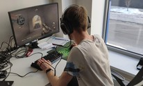 Researchers tie gaming skill to how players sit