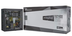 Seasonic launches new Prime Fanless PSUs