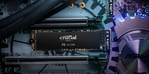 Crucial unveils P2 and P5 NVMe SSDs