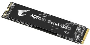 Gigabyte announces heatsink-less Aorus Gen4 SSD SSD series