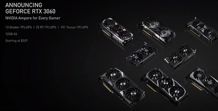 Nvidia unveils the GeForce RTX 3060 12GB graphics card thumbnail
