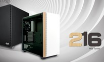 InWin launches 216 mid-tower in white-wood grain finish