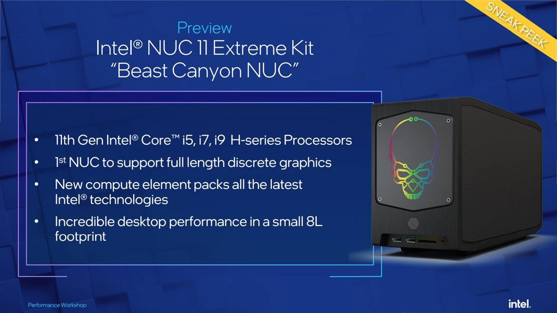 Intel shows off Beast Canyon NUC 11 Extreme ahead of Computex   bit-tech.net