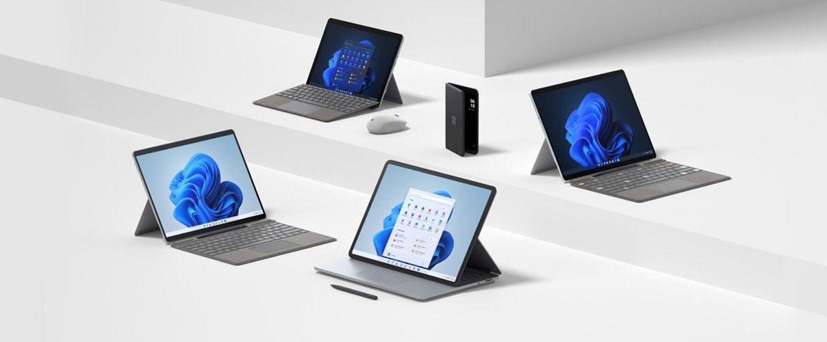 Microsoft annonce huit appareils et accessoires Surface